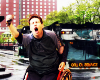 Handicapped Supervillain Can Lift Up This City Bus By Himself, Goddammit